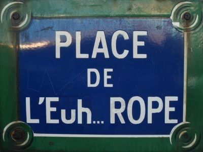 Place de l'Euh… rope